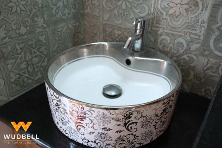 Abstract design sink