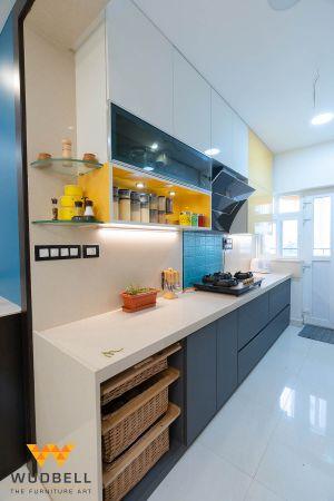 Hi-tech Modular Kitchen