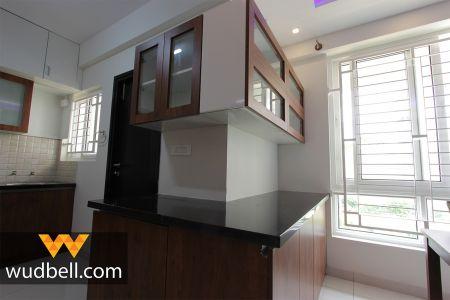 Optimum usage of kitchen space