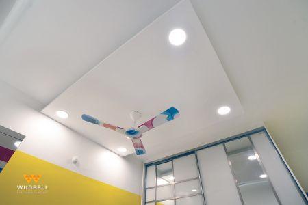 Rectangular false ceiling