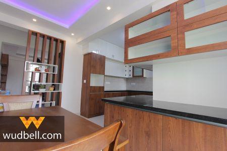 Sneak-peek into kitchen-cum-dining area