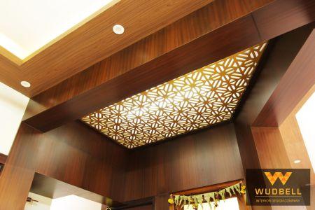 Veener flase ceiling plus cnc grid