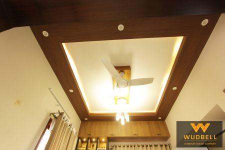 complete royal Veneer finishes a false ceiling